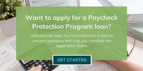 Let inDinero take care of your PPP loan application