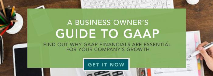 Business Owner's Guide to GAAP Accounting