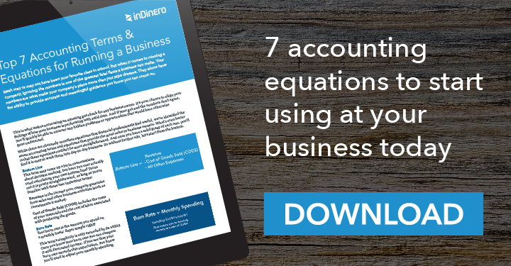 Top 7 Accounting Terms & Equations for Running a Business