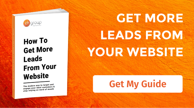 """Get your copy of """"how to get more leads from your website"""" guide"""
