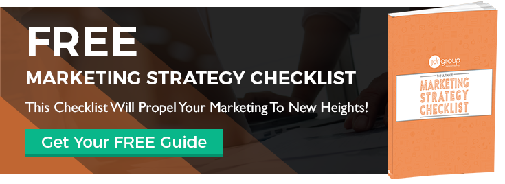 Marketing Strategy Checklist CTA