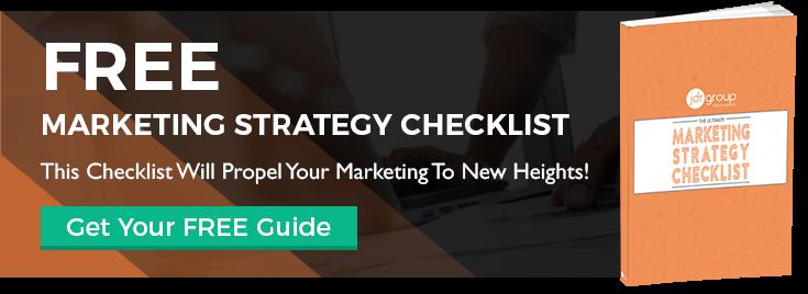 Marketing Strategy Checklist CTA