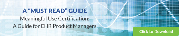 meaningful use stage 2 guide for ehr product managers