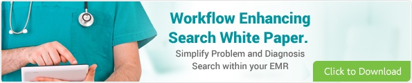 Simplify problem and diagnosis search with your EMR.