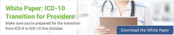 ICD-10 Transition for Providers