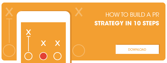 How to build a PR Strategy in 10 Steps