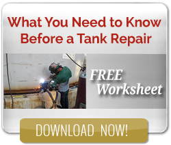 What you need to know before a tank repair