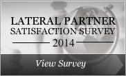 View our Lateral Partner Satisfaction Survey