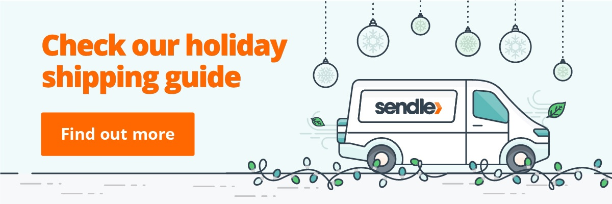 Check Sendle's Christmas holiday shipping guide.