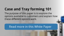 Case & Tray Forming 101  Plan Automation