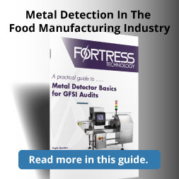 Metal Detector Basics for GFSI Audits