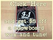 snowboard shop ri wax and tune