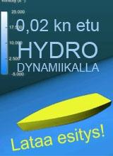 Etua hydrodynamiikalla