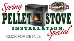 spring pellet stove special click for details