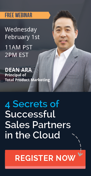 Webinar: 4 Secrets of Successful Sales Partners in the Cloud