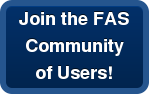Join the FAS Community  of Users!