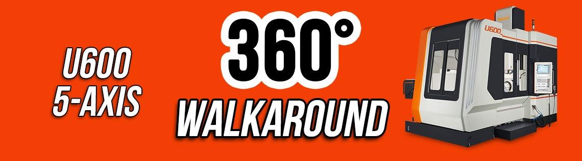 U600 - 5 Axis CNC Machine Walkaround