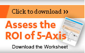 Assess the ROI of 5-Axis