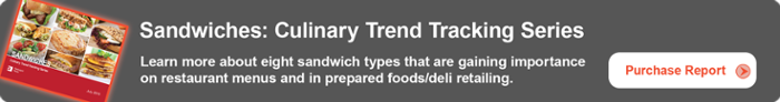 Sandwiches: Culinary Trend Tracking Series