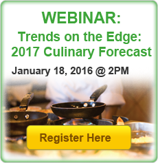 Trends on the Edge: 2017 Culinary Forecast Webinar Registration