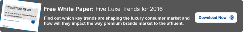 5 Luxury Trends for 2016