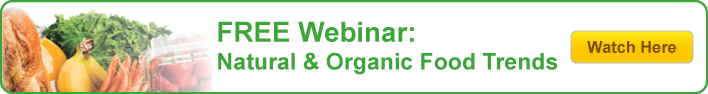 Free Webinar: Natural & Organic Food Trends