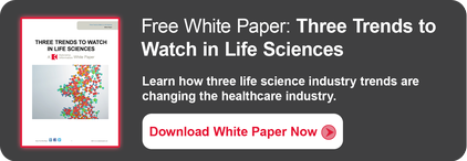"Free White Paper ""Three Trends To Watch in Life Sciences"""