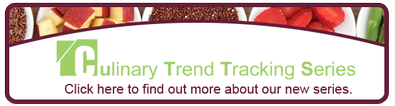 Culinary Trend Tracking Series, featured on MarketResearch.com