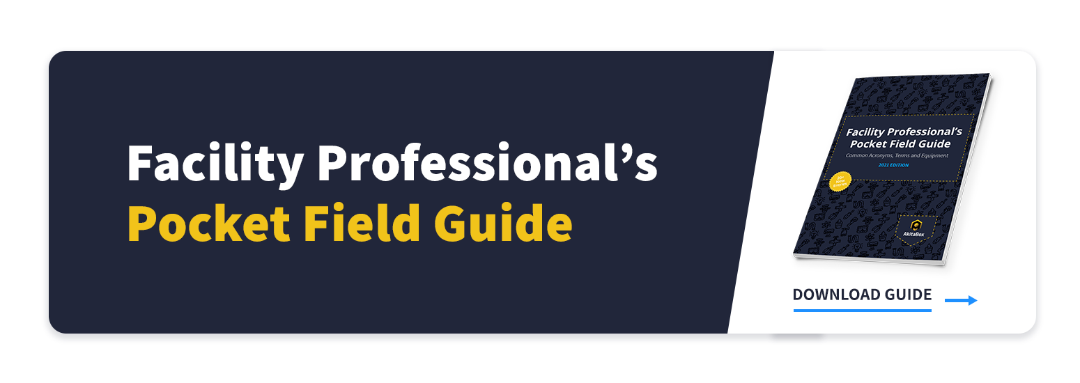 CTA to Facility Professional's Pocket Field Guide of Terms, Acronyms and Equipment