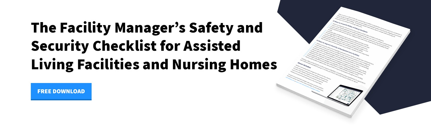 Download Now - Safety and Security Checklist for Assisted Living Facilities