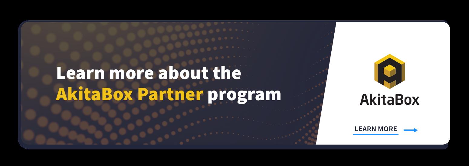 AkitaBox Partner Program web page link