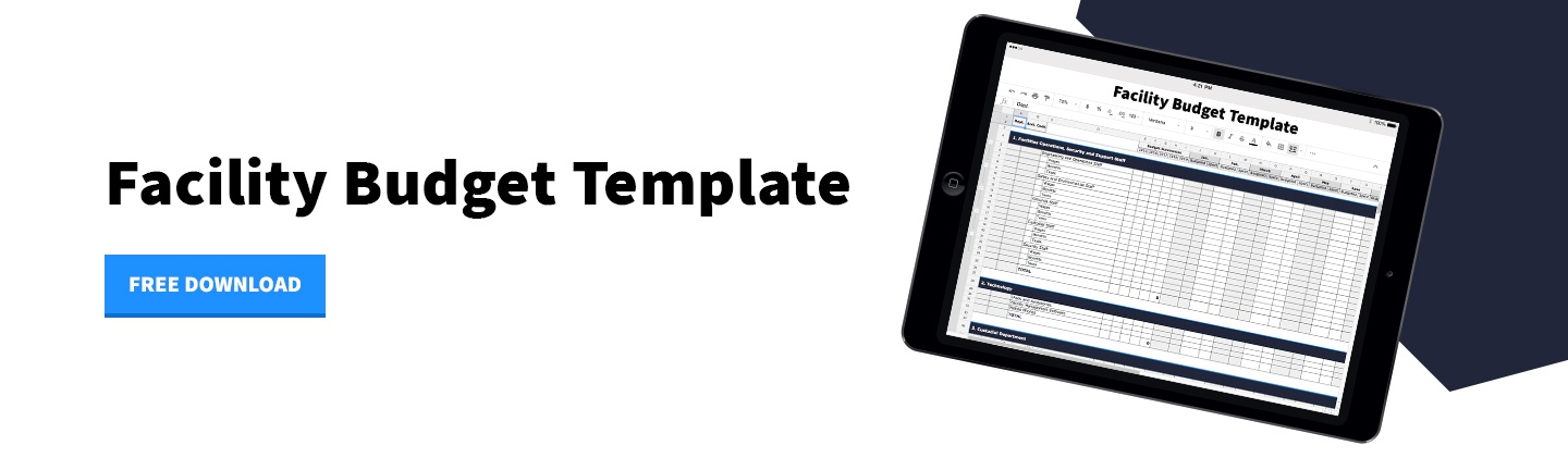 Download - Facility Budget Template