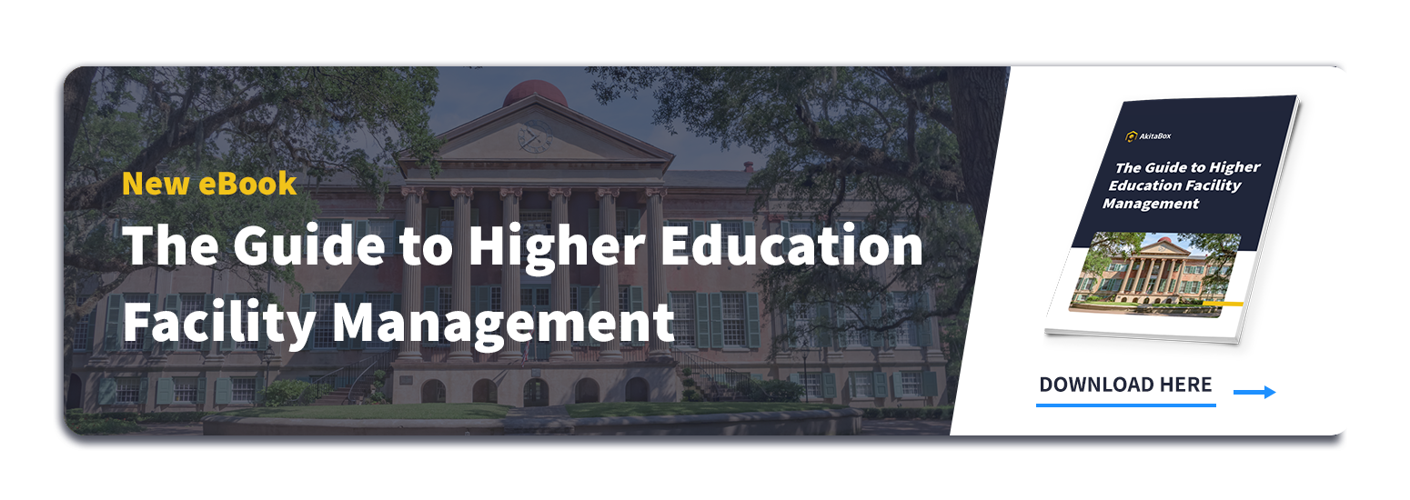 CTA to Guide to Higher Education Facility Management