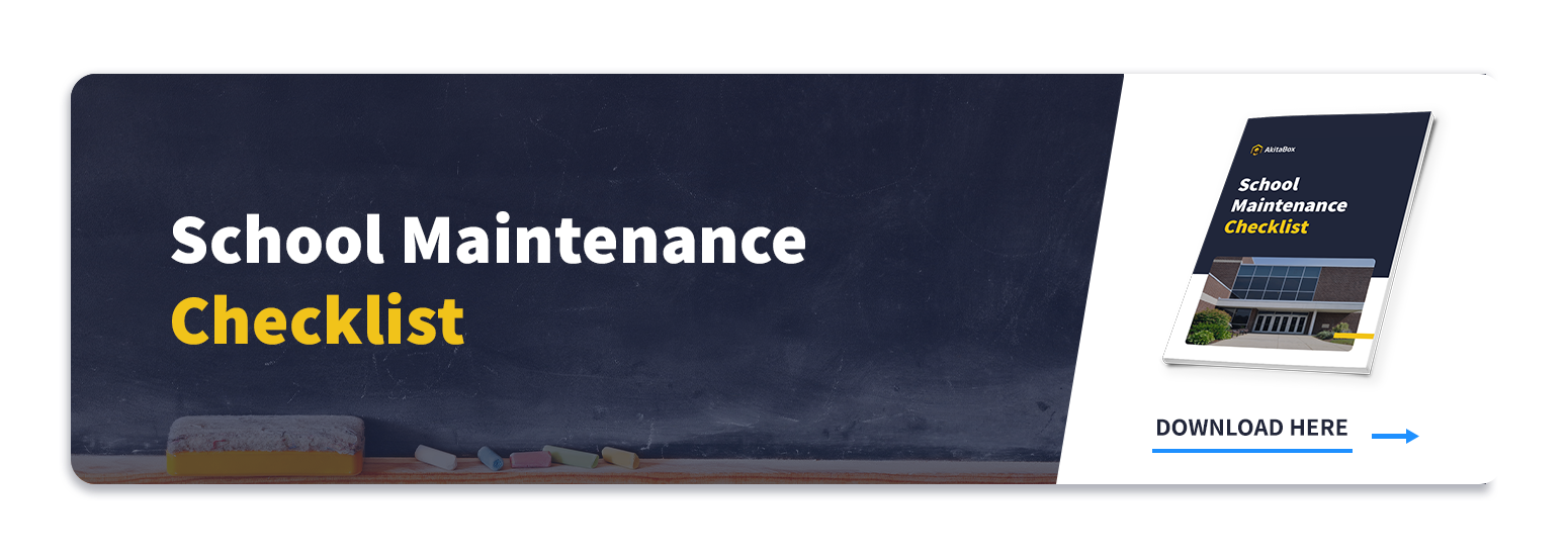 Link to School Maintenance Checklist