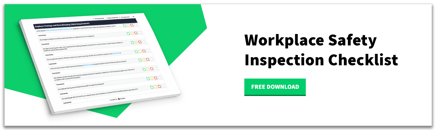 Download - Workplace Safety Inspection Checklist