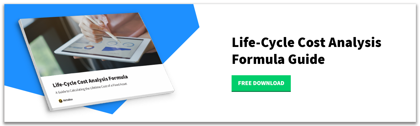 Download the Life-Cycle Cost Analysis Formula Guide