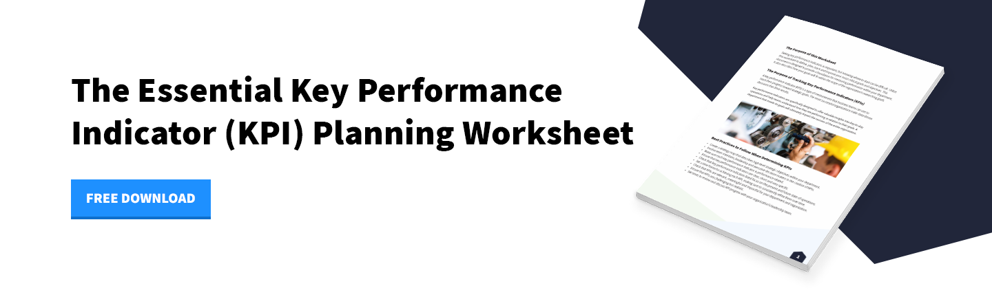 Download - The Essential Key Performance Indicator (KPI) Planning Worksheet