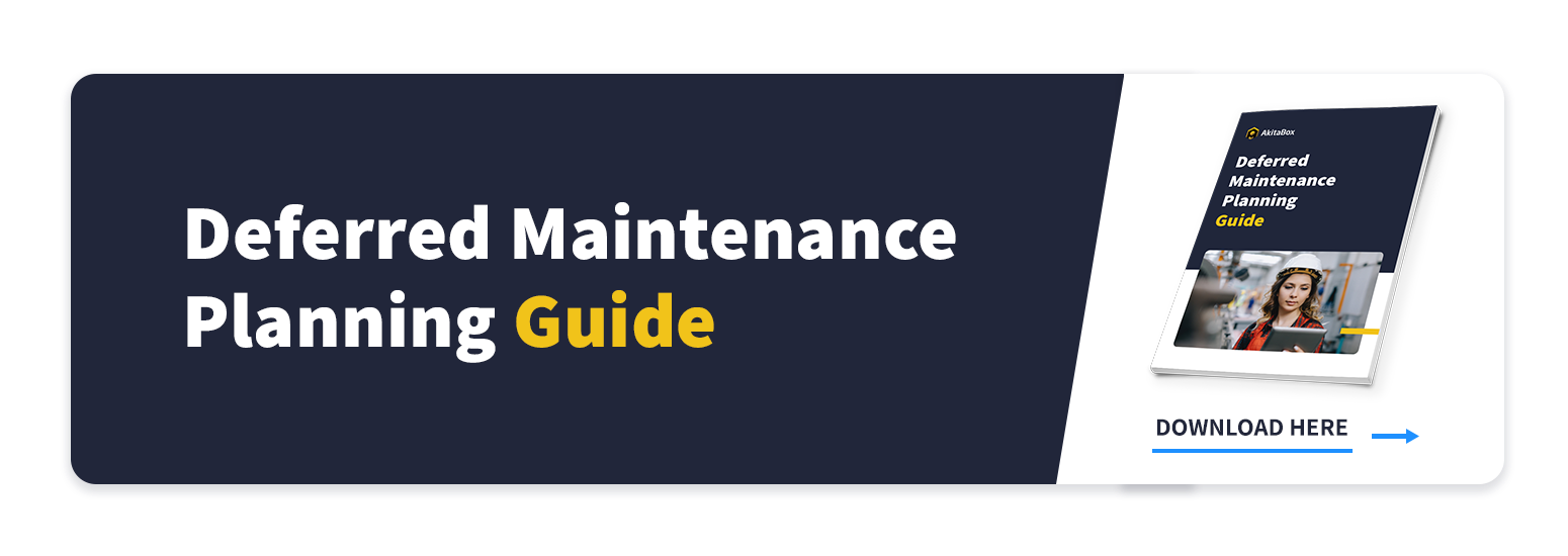 Deferred Maintenance Planning Guide Call to Action button