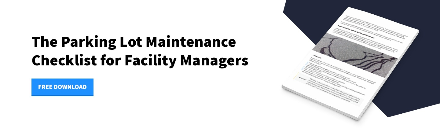 Download Now - Parking Lot Maintenance Checklist for Facility Managers