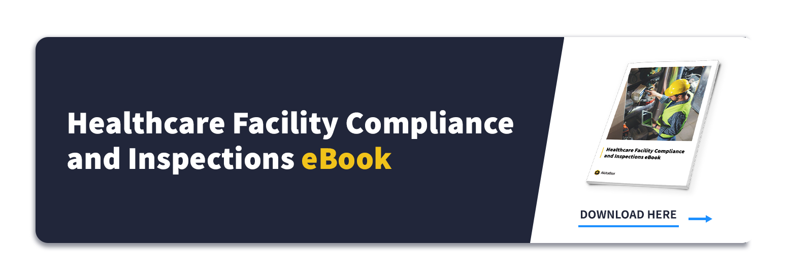 CTA to Healthcare Facility Compliance and Inspections eBook