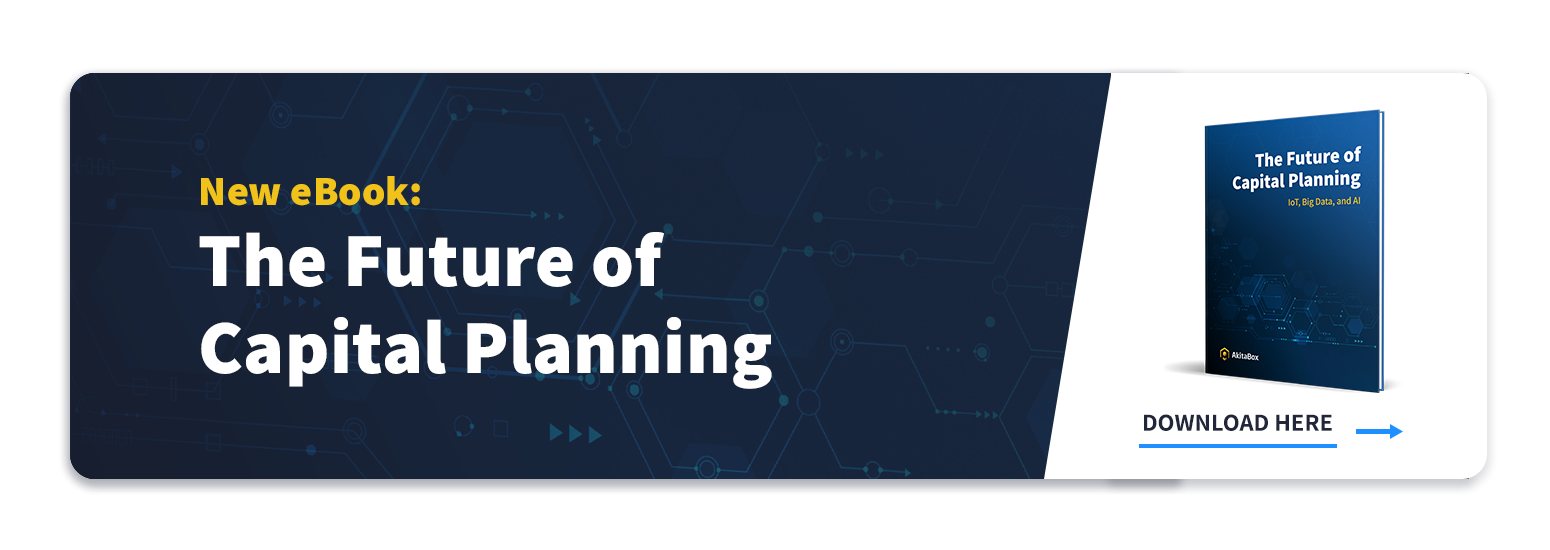 Future of Capital Planning Ebook CTA and Cover