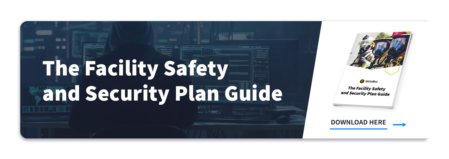 Facility Safety and Security Plan Guide link to download