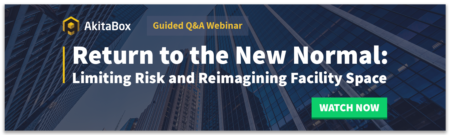 "View the ""Limiting Risk and Reimagining Facility Space"" Webinar"