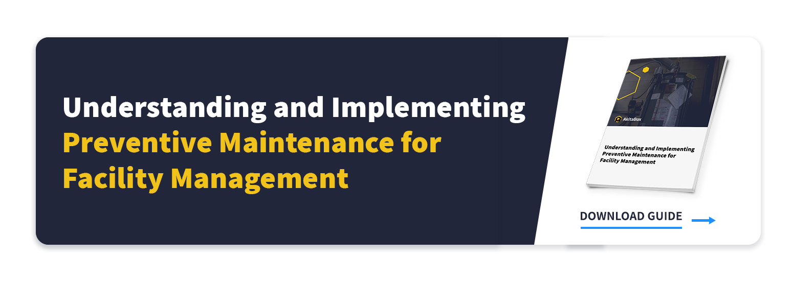 Understanding & Implementing Preventive Maintenance for Facility Management Guide CTA to guide download page