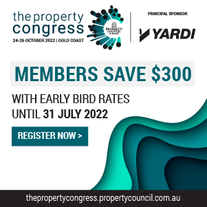 The Property Congress 2022 - 28-30 March 2022 - Hobart