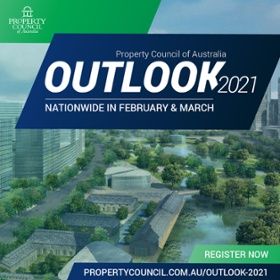 Property Council of Australia Outlook Series 2021 - Register Now
