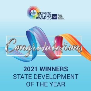 Innovation & Excellence Awards 2021 State Development of the Year Winners