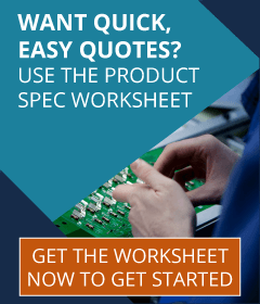 Get the Product Spec Worksheet