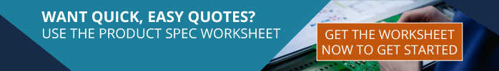 Get RBB's Product Spec Worksheet for Quick, Easy Quotes