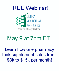 RMS and Ortho Molecular Products Free Webinar 5-9-17